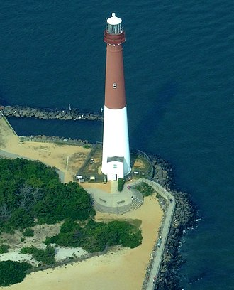 Barnegat Light, New Jersey - From the air, 2009