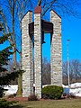 Barneveld Lutheran Church Belltower, with stood an F5 Torando - panoramio.jpg
