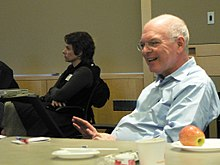 Barry Wellman and Nancy Baym at Cornell (439978413).jpg