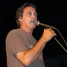 Barry Jean Ancelet at Band Together – a concert to benefit Hurricane Katrina relief.