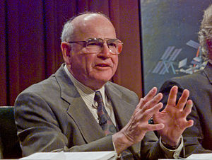Baruch Samuel Blumberg - 1999 press conference at which Blumberg was introduced as the first director of the NASA Astrobiology Institute