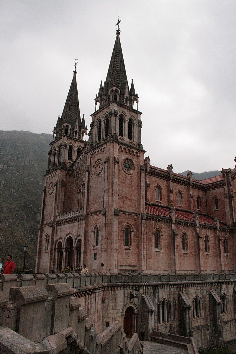 Basílica Covadonga-Asturias-2009.JPG