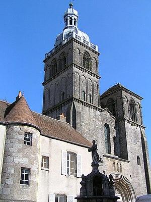 Saulieu - Saint-Andoche basilica