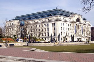 Broad Street, Birmingham - Baskerville House in 2007