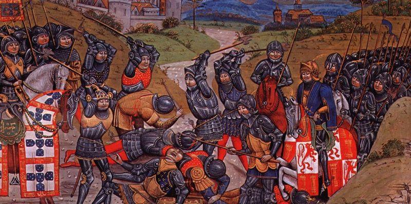 Cena da Batalha de Aljubarrota