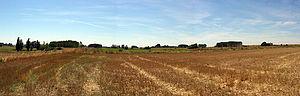 Battle of Llantada - Field where the battle occurred.