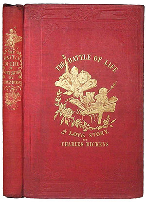 The Battle of Life - Cover of the first edition of The Battle of Life from 1846.