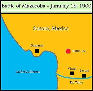 Battle of Mazocoba - Image: Battle of Mazocoba 1900