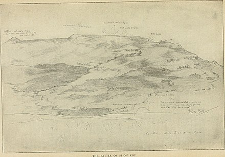 A sketch of the summits of Spion Kop Battles of the nineteenth century (1901) (14779947974).jpg