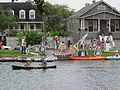 Bayou St John 4th of July NOLA 2012 Kolossos Platform Canoes.JPG