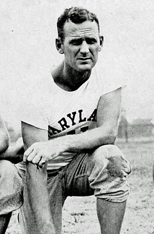 Bear Bryant - Bryant as Maryland head coach in 1945