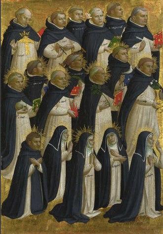 Fiesole Altarpiece - Image: Beato angelico, predella della pala di fiesole 00