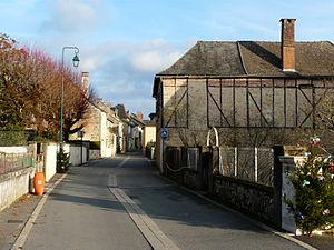 Beauregard-de-Terrasson - Image: Beauregard de Terrasson rue