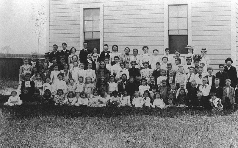File:Beaverton School 1902 (Beaverton, Oregon Historical Photo Gallery) (23).jpg