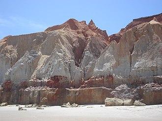 Beberibe Cliffs Natural Monument - Image: Beberibe Cliff 1
