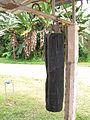 Beduk (tabuh) yang digantung di Masjid Ubudiah, Ulu Dong, Pahang.jpg