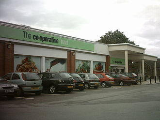 Beeston, Leeds - The Co-op on Town Street