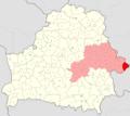 Belarus, Mahilioŭskaja voblasć, Chocimski rajon.png