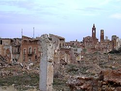 Old town of Belchite