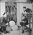 Belgian Sailors at a Skegness Training Camp- Belgian Naval Training at Butlin's, Skegness, Lincolnshire, England, UK, 1945 D24895.jpg