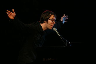 Ben Folds - Folds performing in Knoxville, Tennessee, 2006