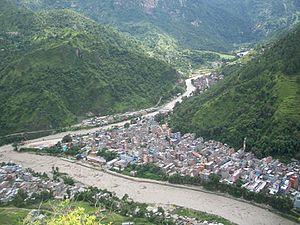 Beni, Dhaulagiri - Image: Beni Nepal