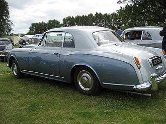 Bentley S1 - Image: Bentley S1 1957 RREC Annual Rally 2010