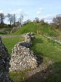 Berkhamsted Castle - Wobbly Wall - panoramio.jpg