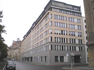 Hans Litten - Hans Litten Haus on Littenstraße in Berlin