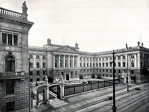 Landtag of Prussia - House of Lords, about 1900