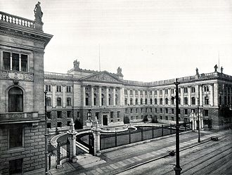 Reichsrat (Germany) - Seat of the Reichsrat (1919–1933) at the former Prussian House of Lords building on the Leipziger Straße in Berlin, Germany