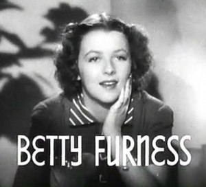 Betty Furness - Image: Betty Furness in Mama Steps Out trailer