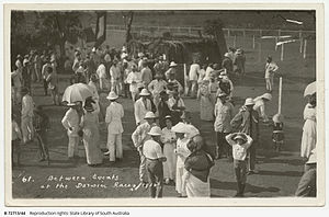 Sport in the Northern Territory - Between events at the Darwin races 1915
