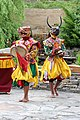 Bhutanese masked dancers, Paro.jpg