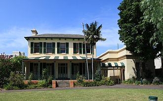 Glebe Point Road - Bidura, former home of colonial architect, Edmund Blacket.