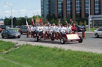 Heart and Stroke Foundation of Canada - Heart and Stroke Foundation's fundraising Big Bike.