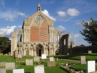 Suppression of Religious Houses Act 1535 - The ruins of Binham Priory in Norfolk, one of the houses suppressed under the Act