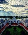 Bird eye view of Neermahal Garden.jpg