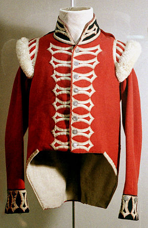 Coatee - A British Army coatee from about 1815.