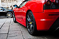 Black and red Ferrari @ Piazza Duomo.jpg