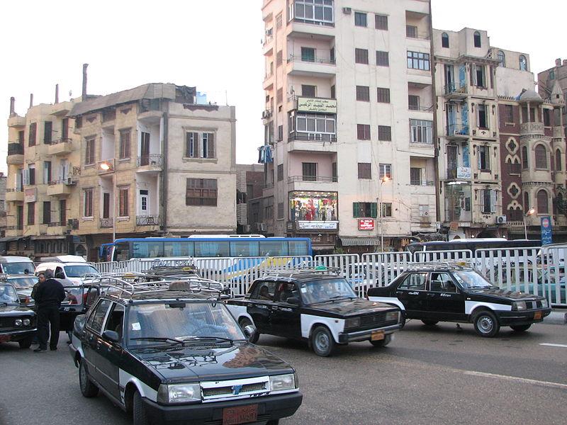 Táxi no Egito