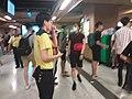 Black dark night 香港反對逃犯條例 Anti-HK bill demo against extradition bill protect MTR Station visitors July 2019 SSG 15.jpg