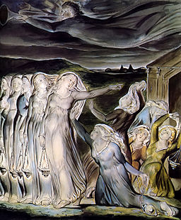 Blake Wise And Foolish Virgins 1826