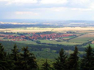 Stapelburg - View from the Harz mountains