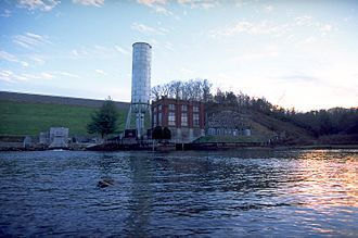 Blue Ridge Dam - Image: Blue Ridge Dam