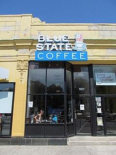 Blue State Coffee Commonwealth Avenue Boston Ma