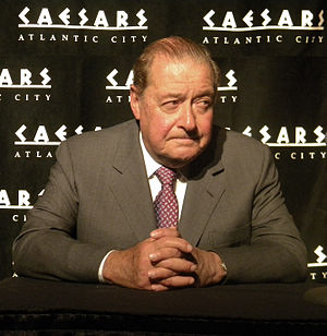 Bob Arum - Bob Arum at Boardwalk Hall in Atlantic City, April 18, 2010