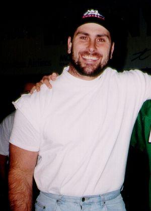 Bobby Jurasin - Image: Bobby Jurasin at Grey Cup 1997