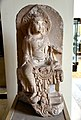 Bodhisattva Manjushri seated in lalitasana, from China, Jin Dynasty, 12th century CE. British Museum.jpg
