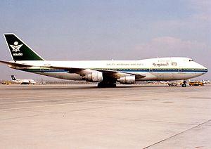 Charkhi Dadri mid-air collision - Image: Boeing 747 168B, Saudia Saudi Arabian Airlines AN0217717